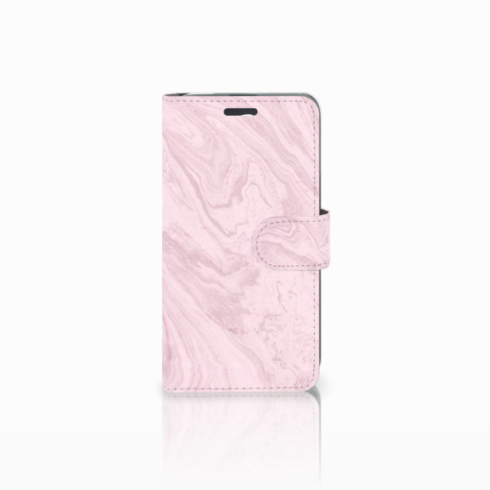 Acer Liquid Z520 Boekhoesje Marble Pink