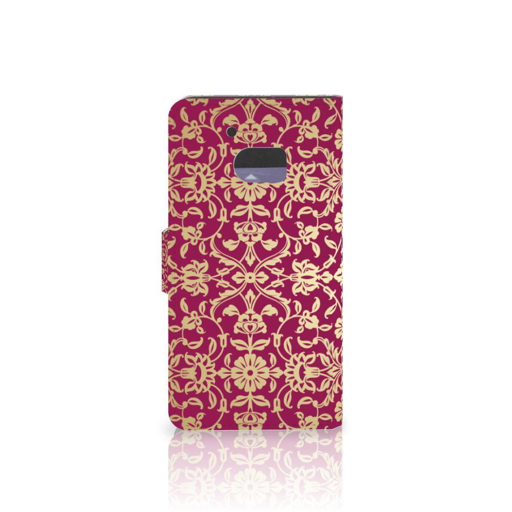 Wallet Case HTC 10 Barok Pink