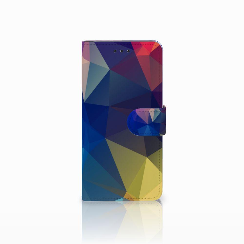 Motorola Moto G6 Bookcase Polygon Dark