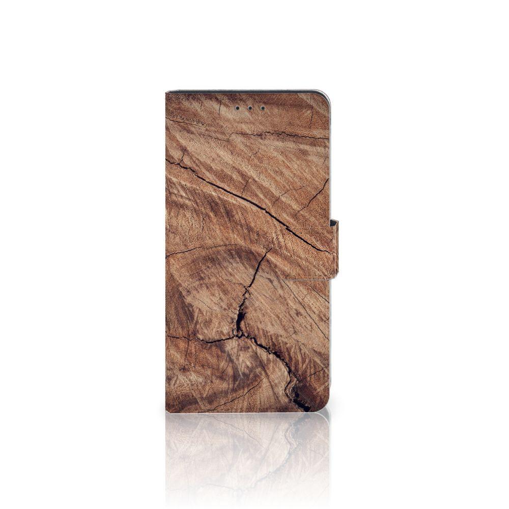 Samsung Galaxy A7 (2018) Boekhoesje Design Tree Trunk