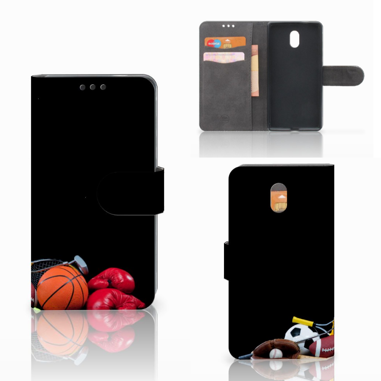 Nokia 3 Wallet Case met Pasjes Sports