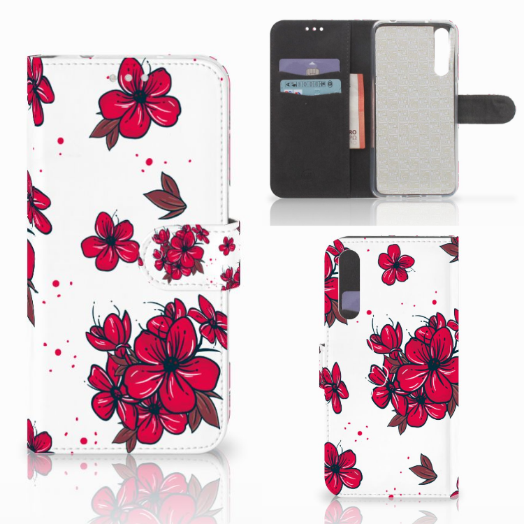 Huawei P20 Pro Hoesje Blossom Red
