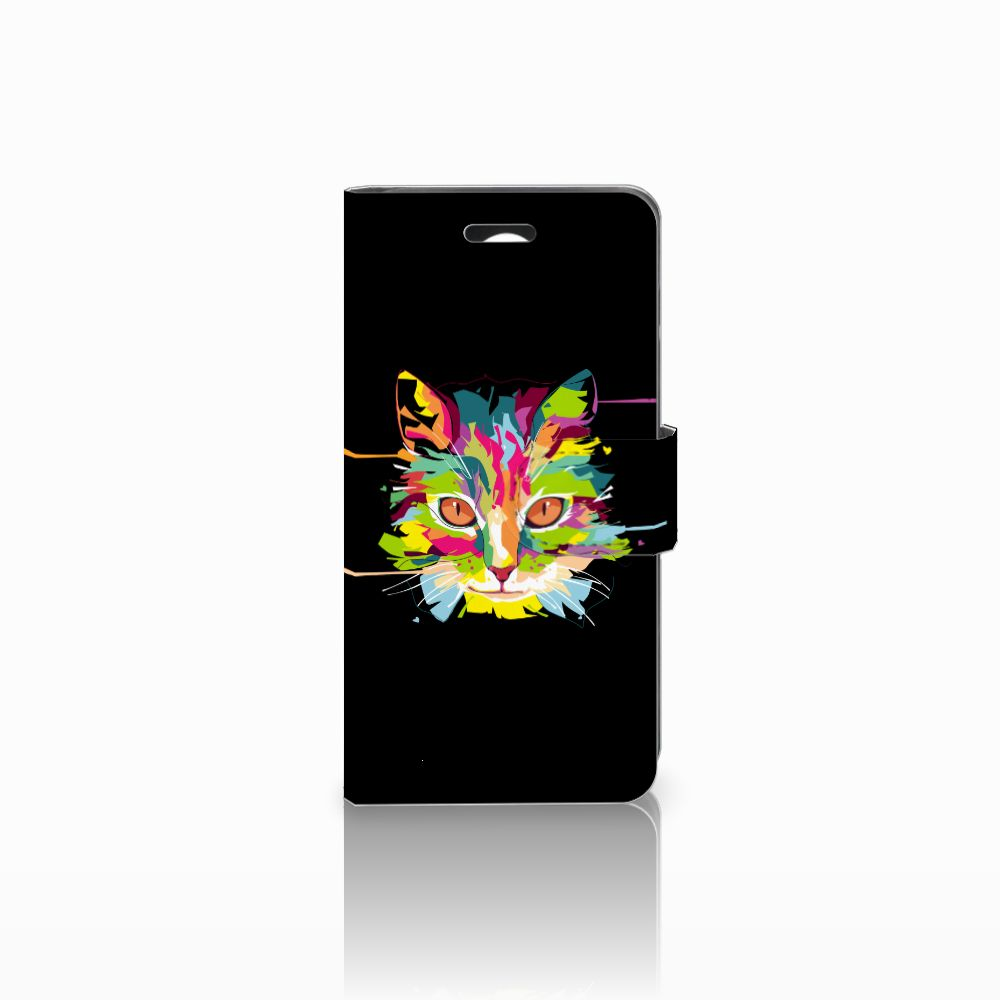 Huawei Y3 2 | Y3 II Uniek Boekhoesje Cat Color
