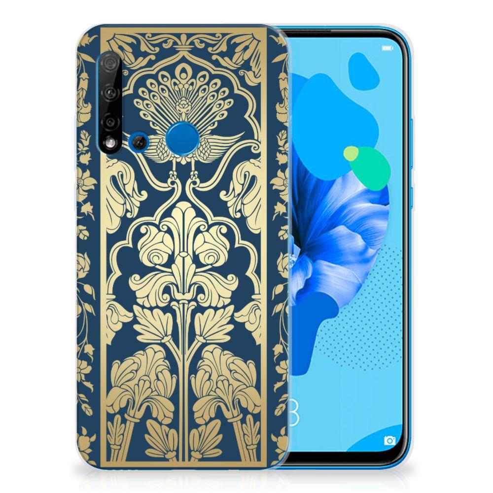 Huawei P20 Lite (2019) TPU Case Golden Flowers