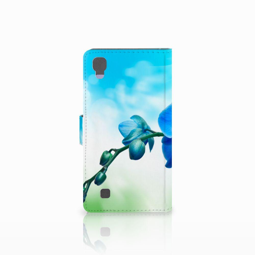 LG X Power Hoesje Orchidee Blauw - Cadeau voor je Moeder