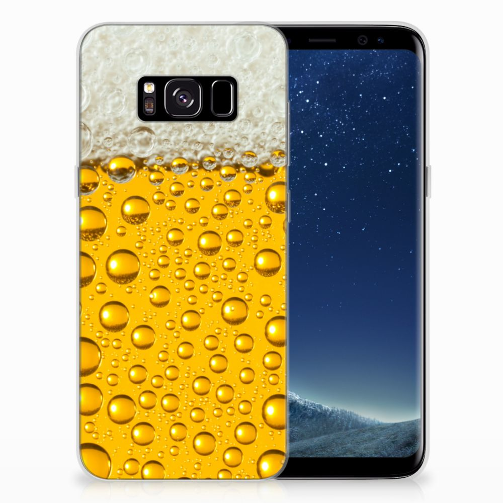 Samsung Galaxy S8 Siliconen Case Bier
