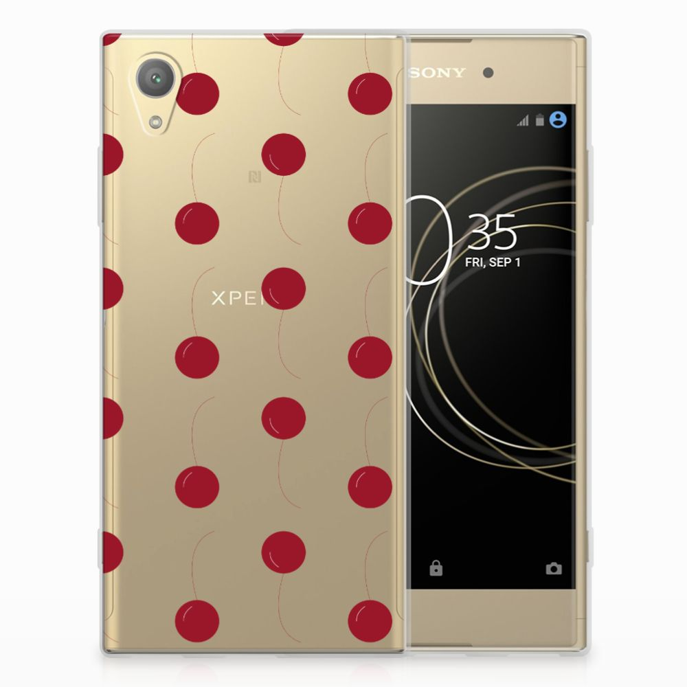Sony Xperia XA1 Plus Siliconen Case Cherries
