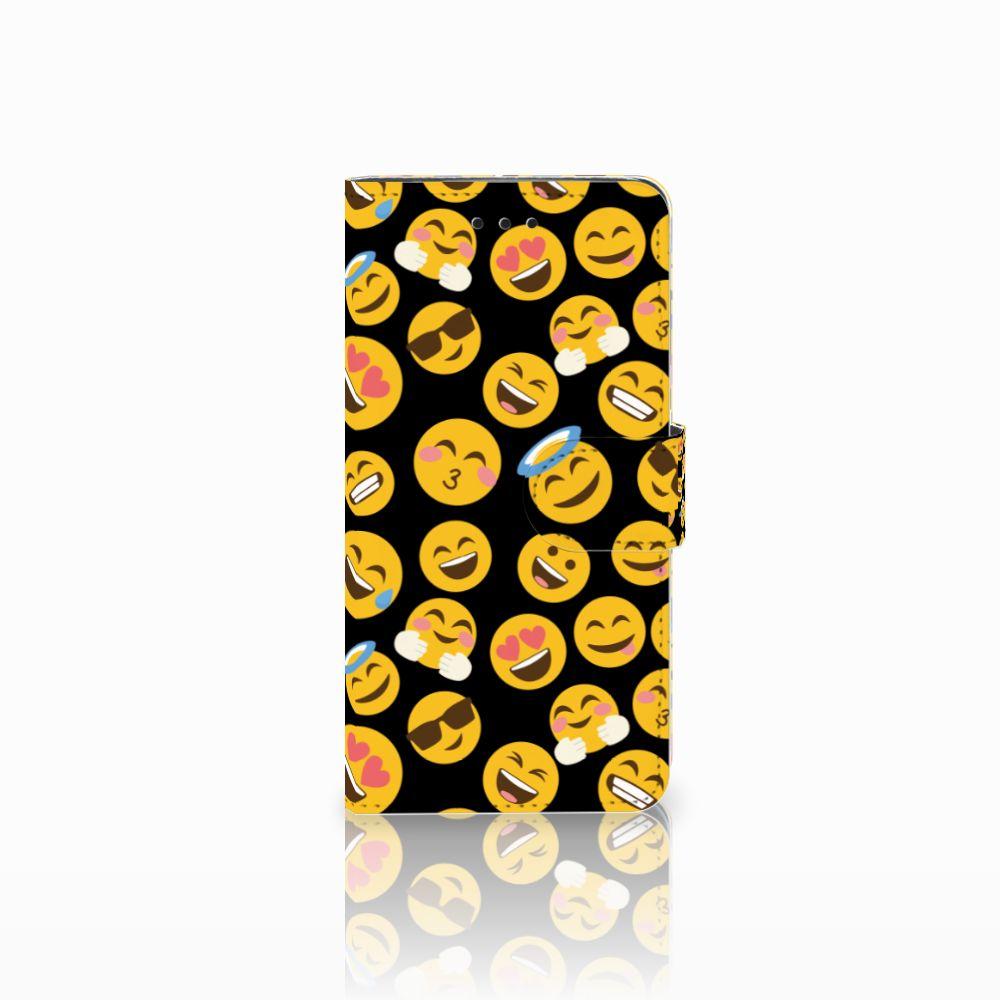 Huawei Y5 2018 Boekhoesje Design Emoji