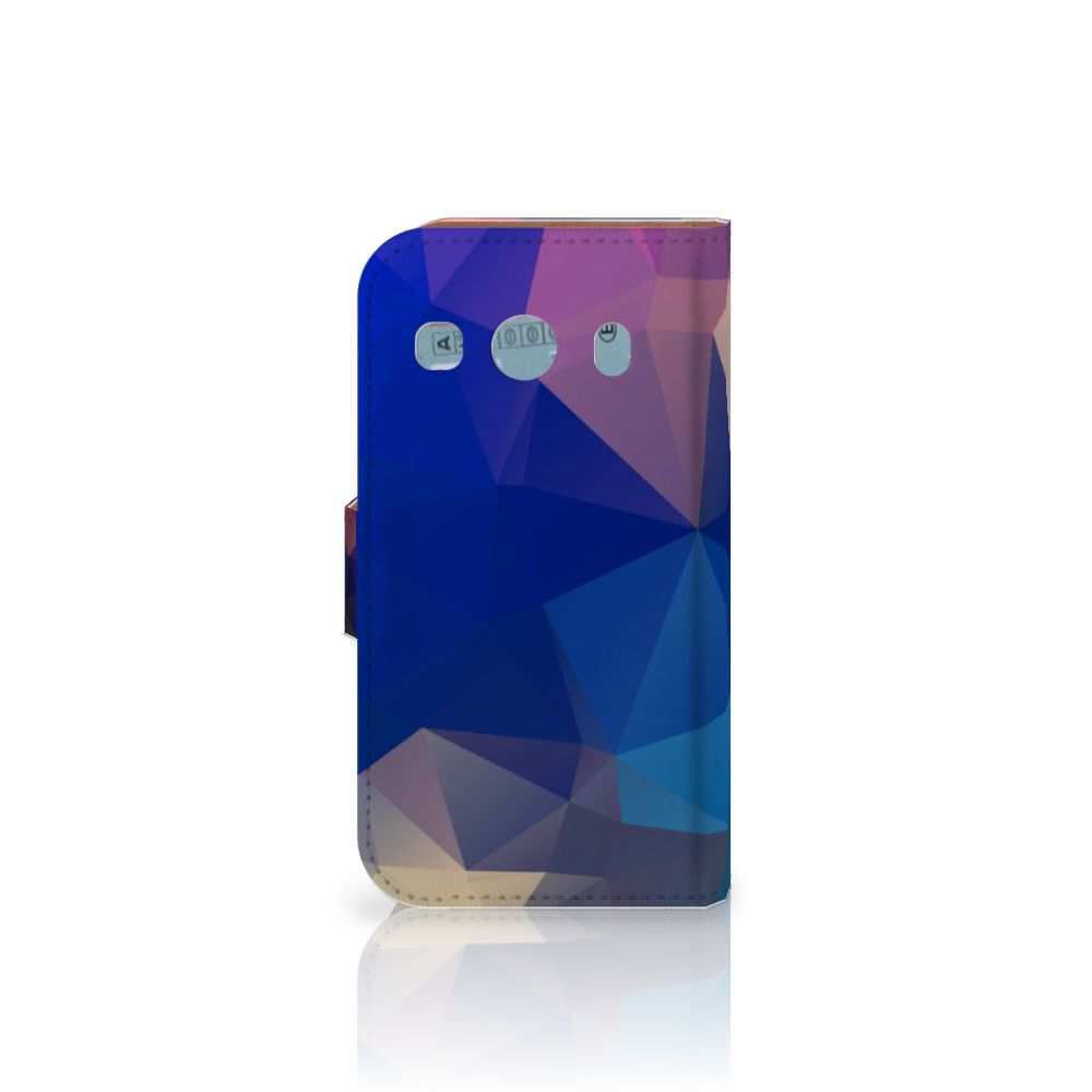 Samsung Galaxy Ace 4 4G (G357-FZ) Bookcase Polygon Dark