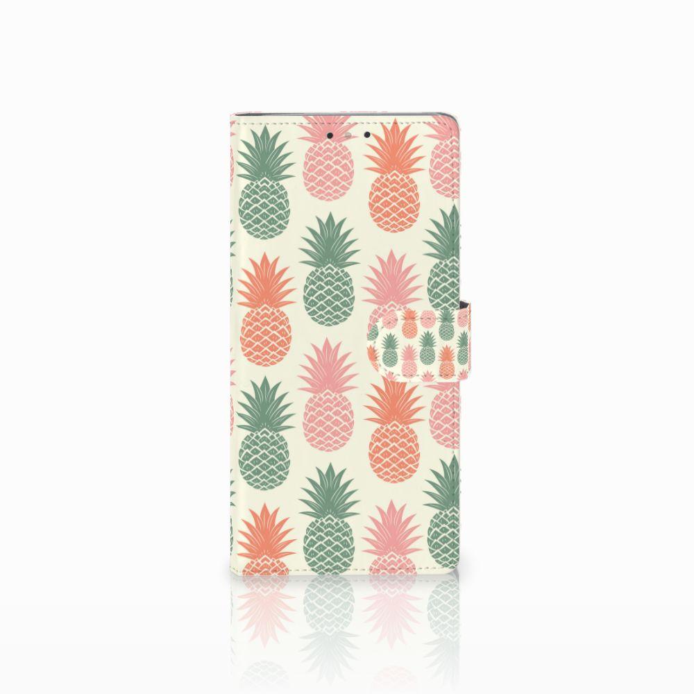 HTC U Ultra Boekhoesje Design Ananas