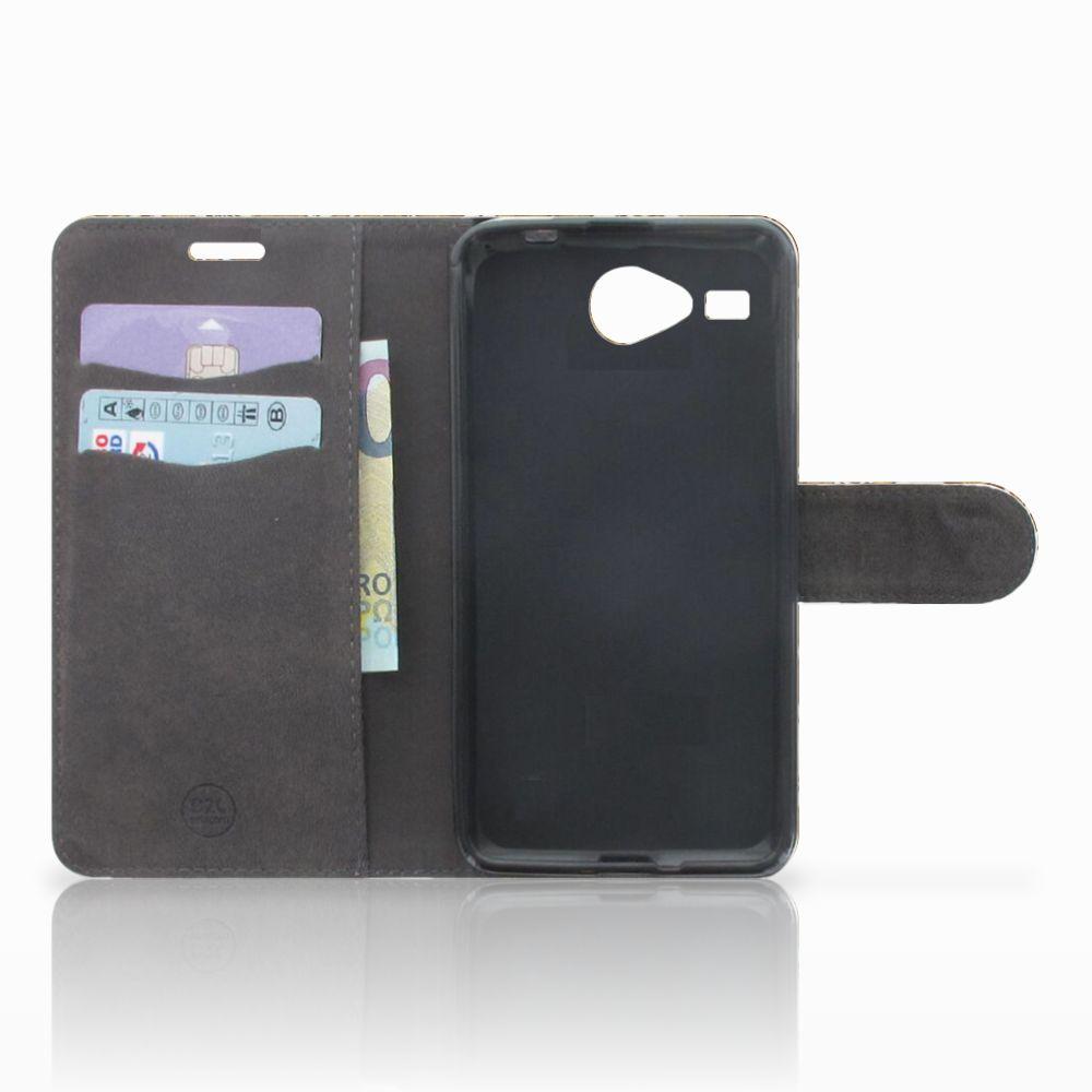 Wallet Case Acer Liquid Z520 Barok Goud