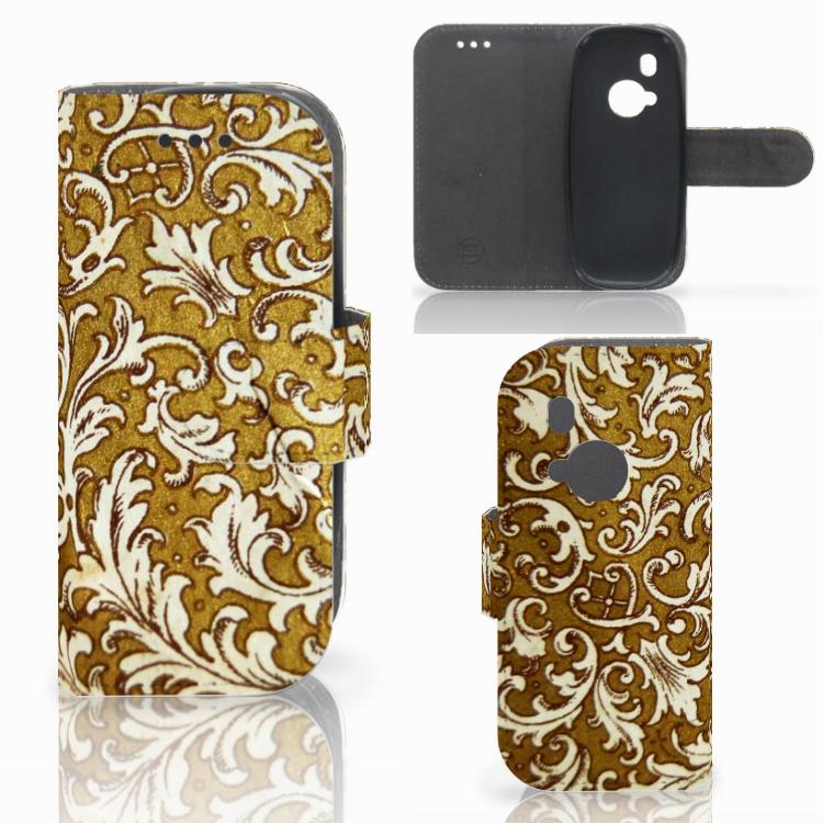 Wallet Case Nokia 3310 (2017) Barok Goud