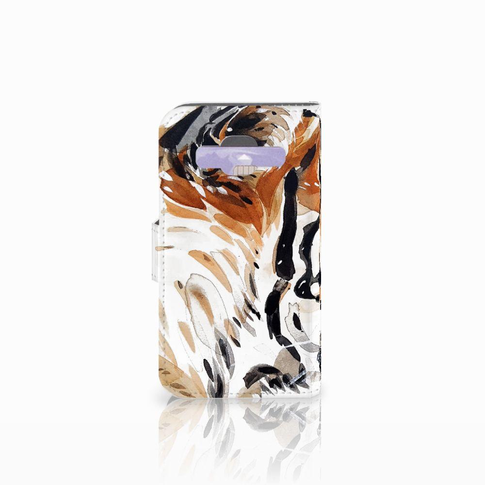 Hoesje Samsung Galaxy Core Prime Watercolor Tiger