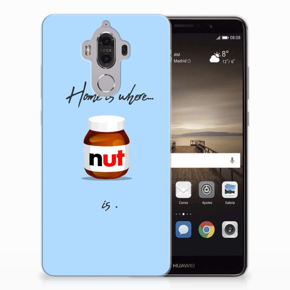 Huawei Mate 9 Siliconen Case Nut Home