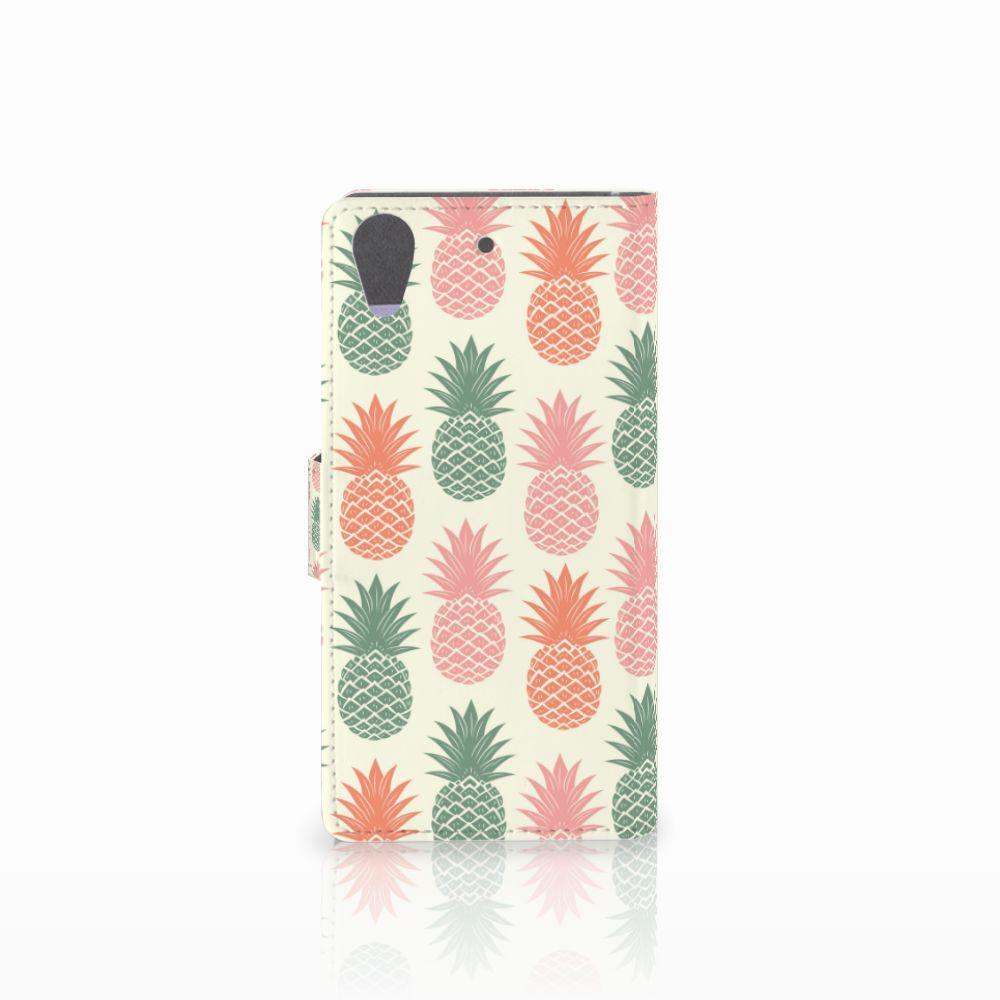 HTC Desire 626 | Desire 626s Book Cover Ananas