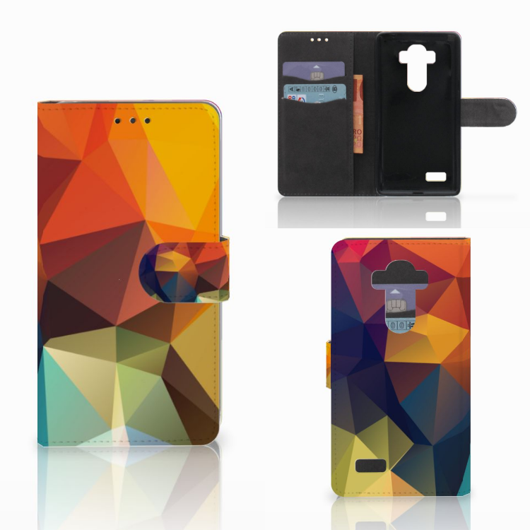 LG G4 Bookcase Polygon Color