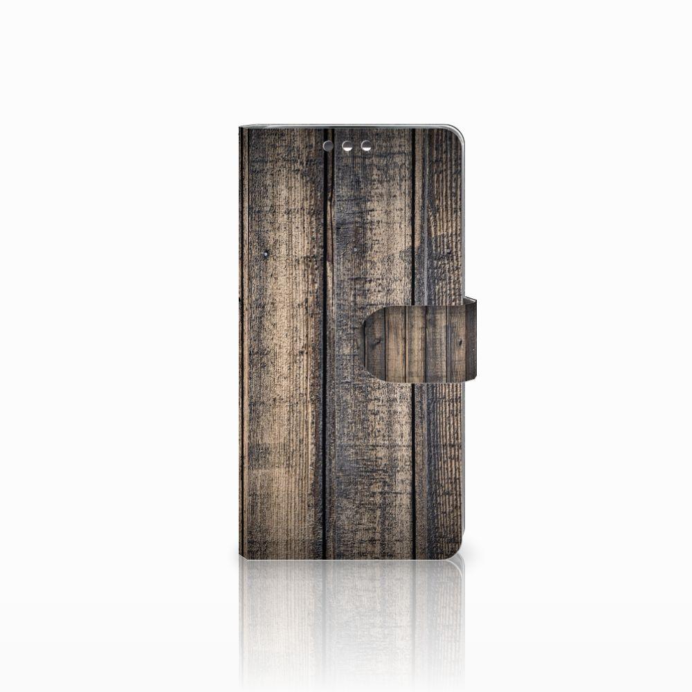 LG K8 Boekhoesje Design Steigerhout