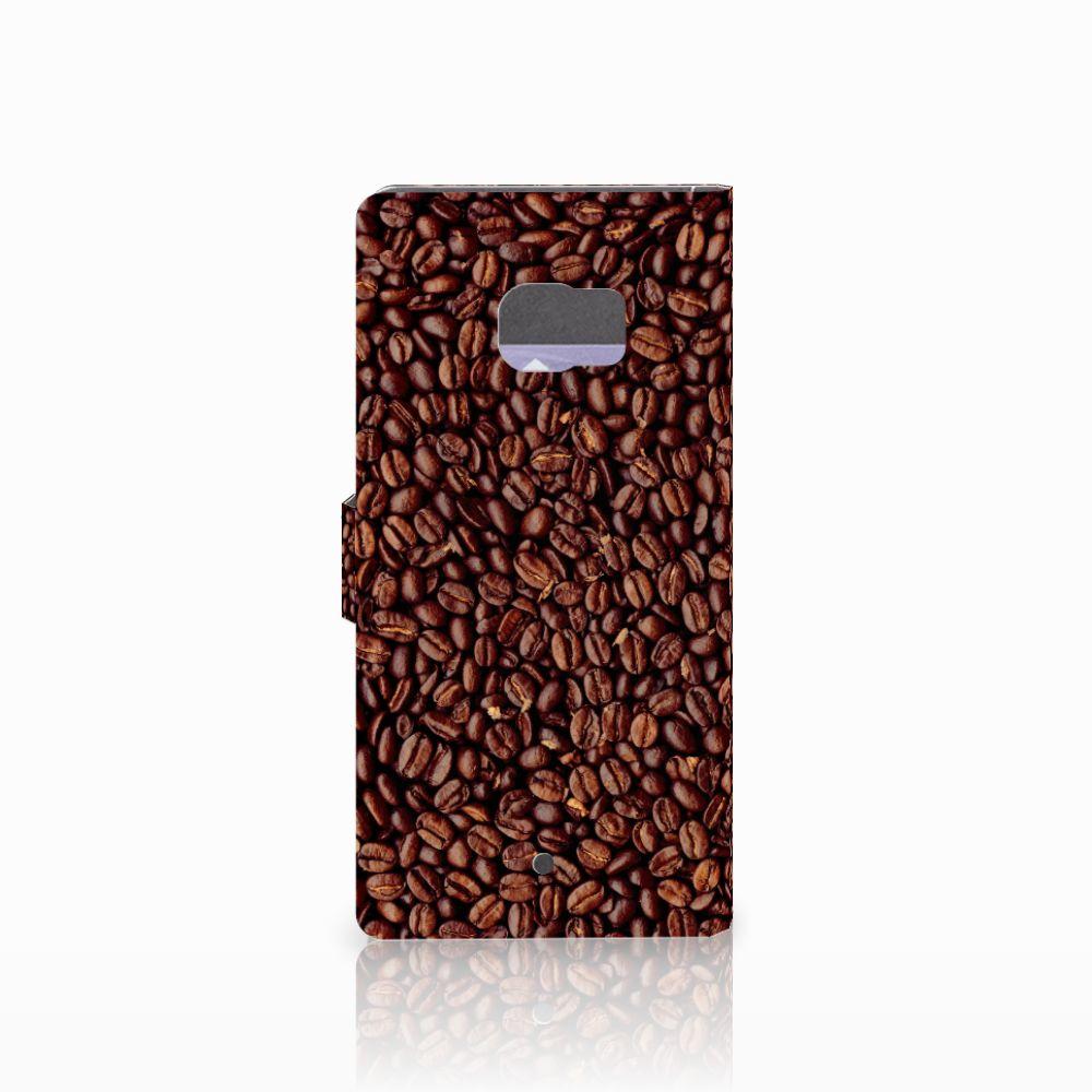 HTC U Ultra Book Cover Koffiebonen