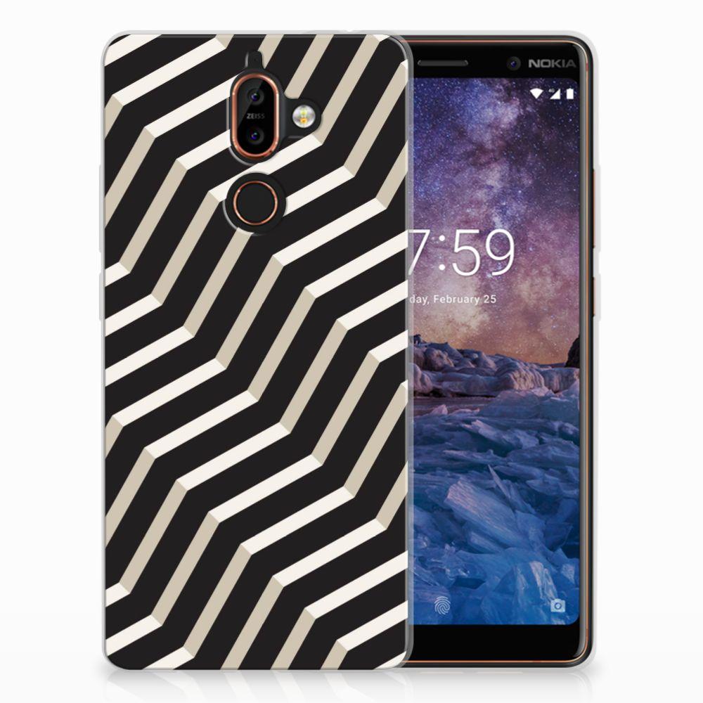Nokia 7 Plus TPU Hoesje Illusion