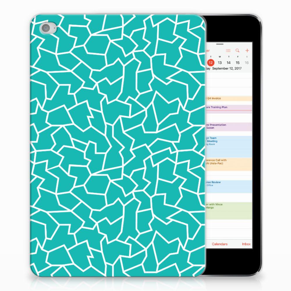 Apple iPad Mini 4 | Mini 5 (2019) Tablethoes Cracks Blue