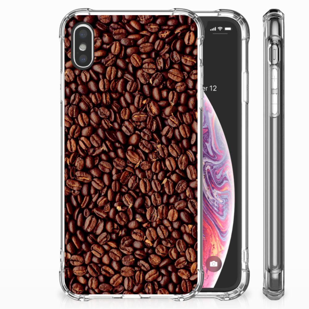 Apple iPhone Xs Max Beschermhoes Koffiebonen