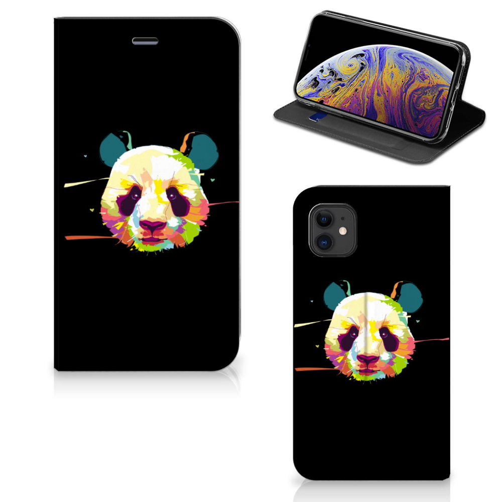 Apple iPhone 11 Magnet Case Panda Color