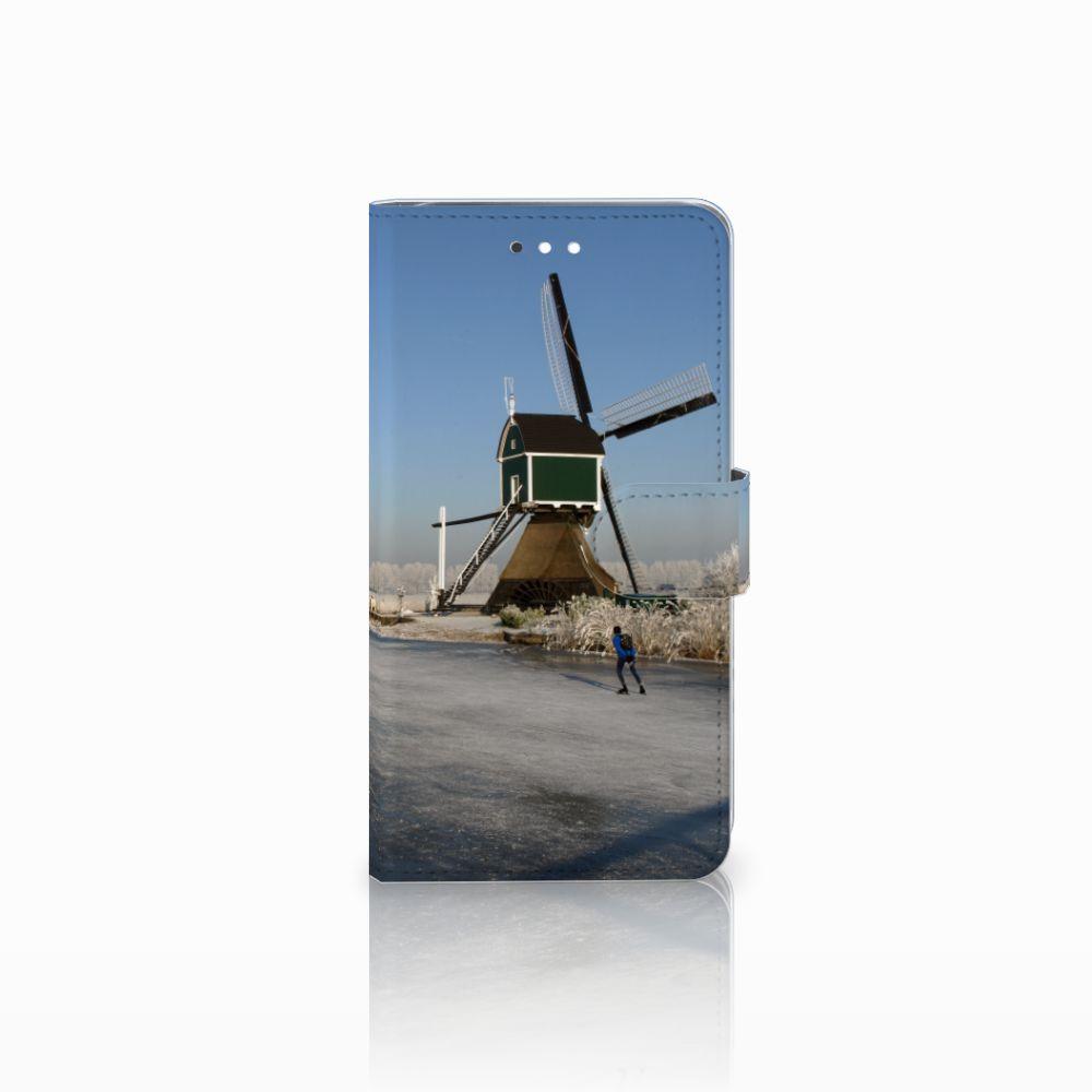Huawei Ascend G7 Boekhoesje Design Schaatsers
