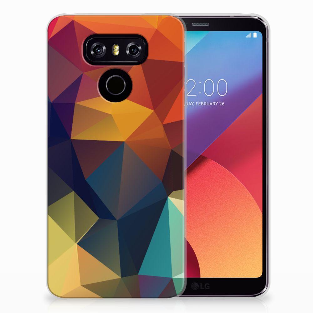 LG G6 TPU Hoesje Polygon Color