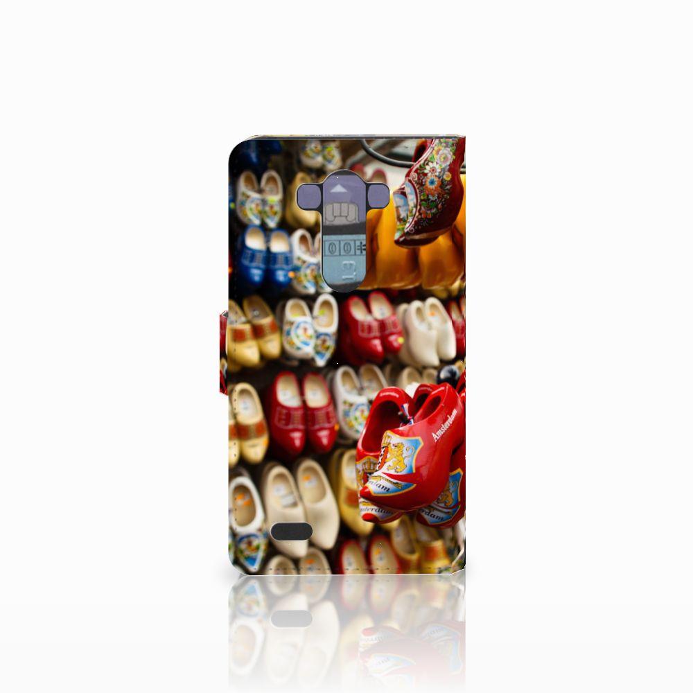 LG G3 Flip Cover Klompen