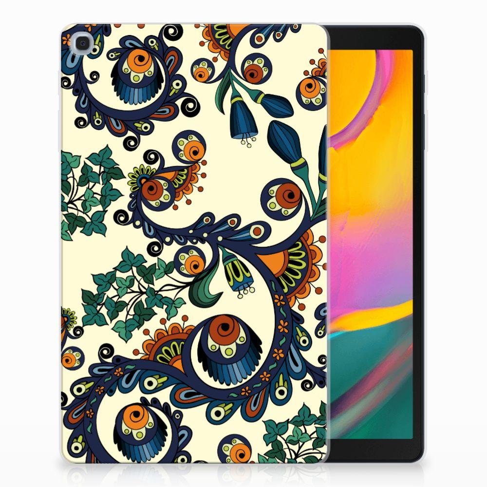 Samsung Galaxy Tab A 10.1 (2019) Tablethoesje Design Barok Flower
