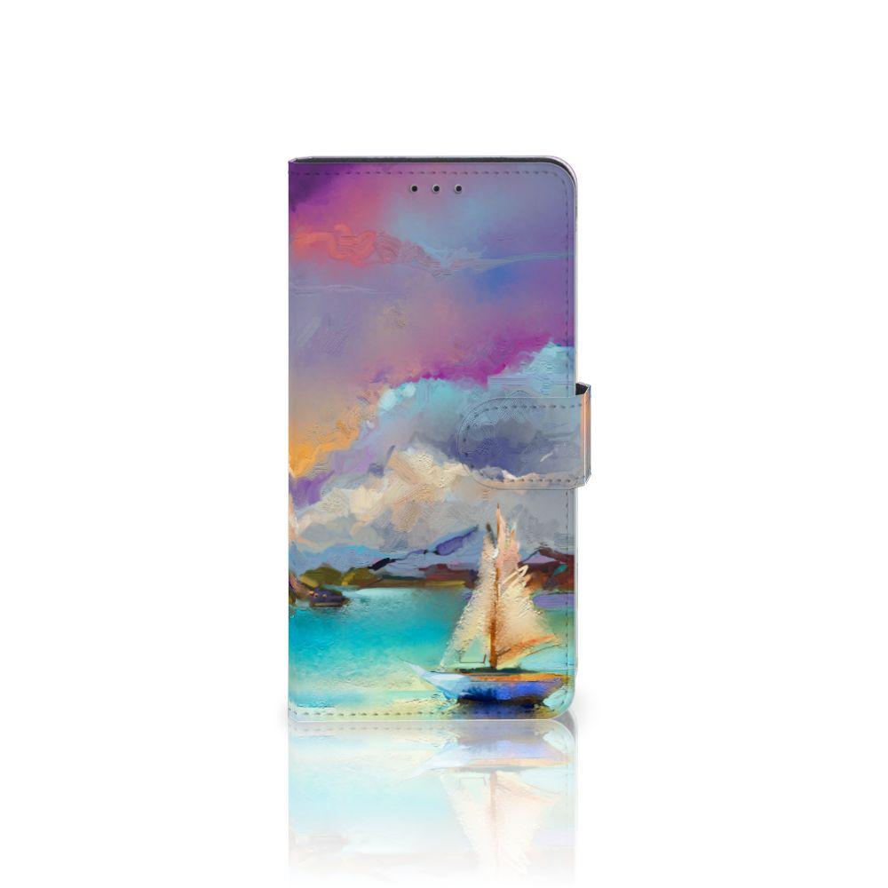 Samsung Galaxy A7 (2018) Uniek Boekhoesje Boat