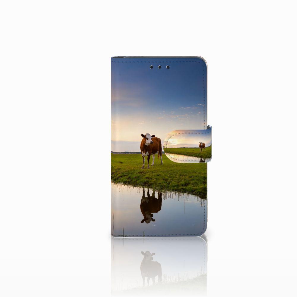 Huawei Y6 Pro 2017 Boekhoesje Design Koe