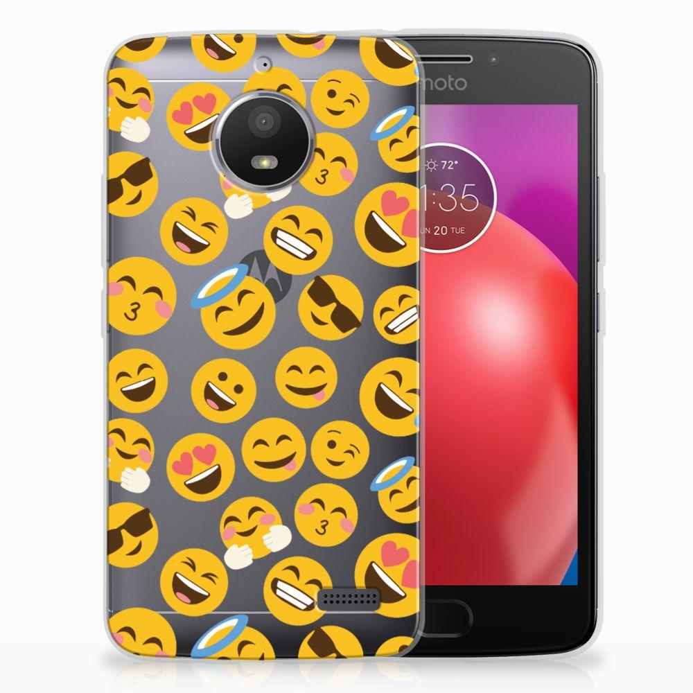 Motorola Moto E4 TPU bumper Emoji