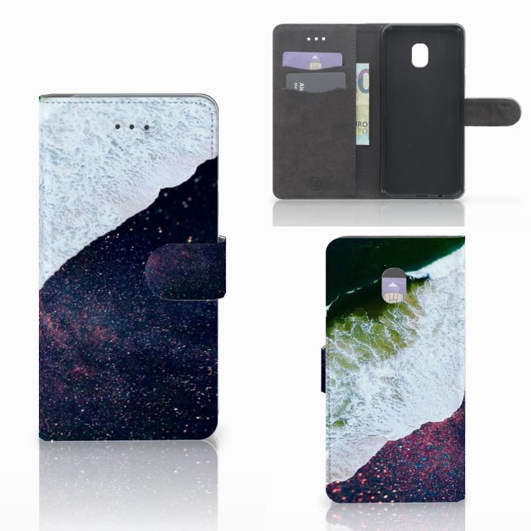 Samsung Galaxy J7 (2018) Bookcase Sea in Space