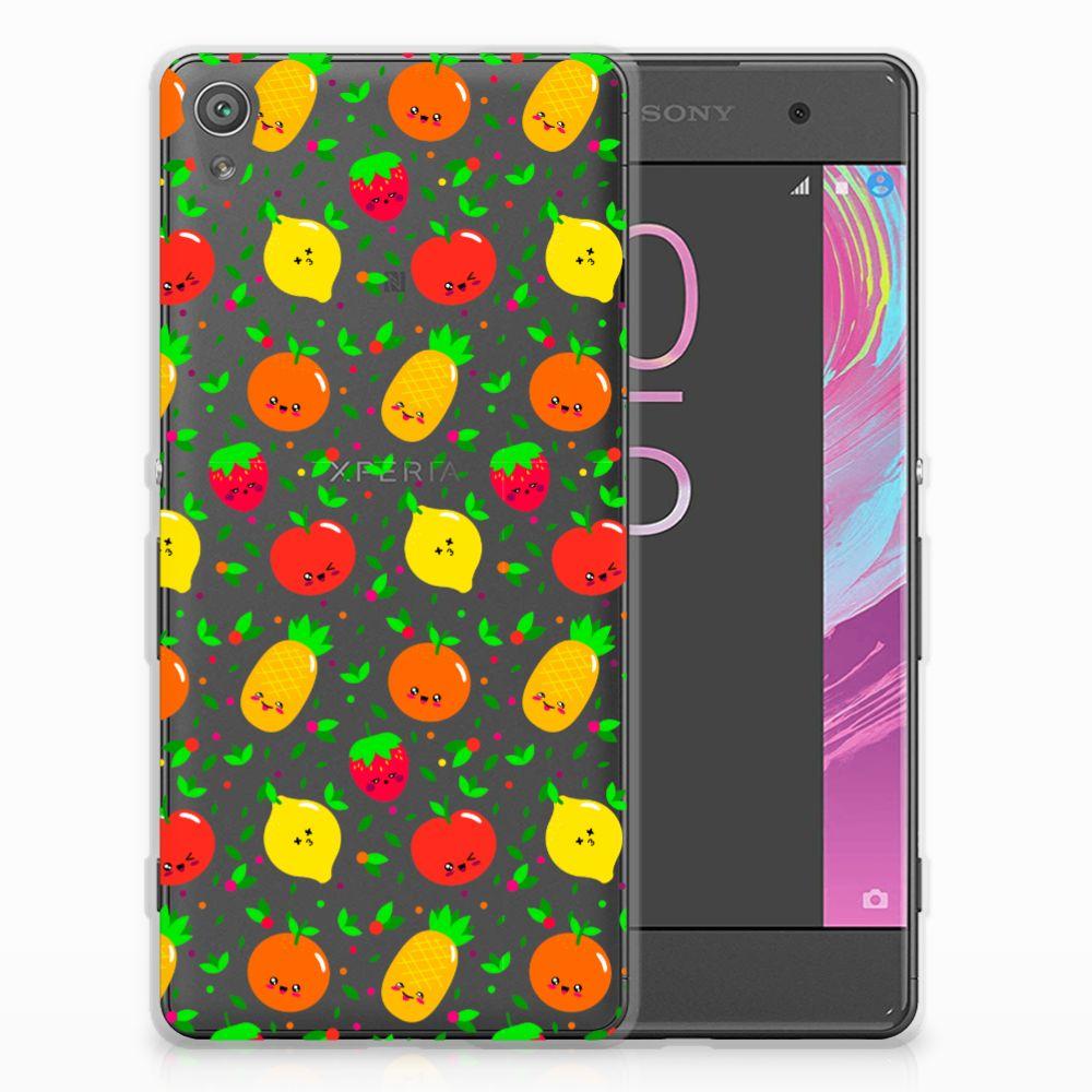 Sony Xperia XA | XA Dual Siliconen Case Fruits