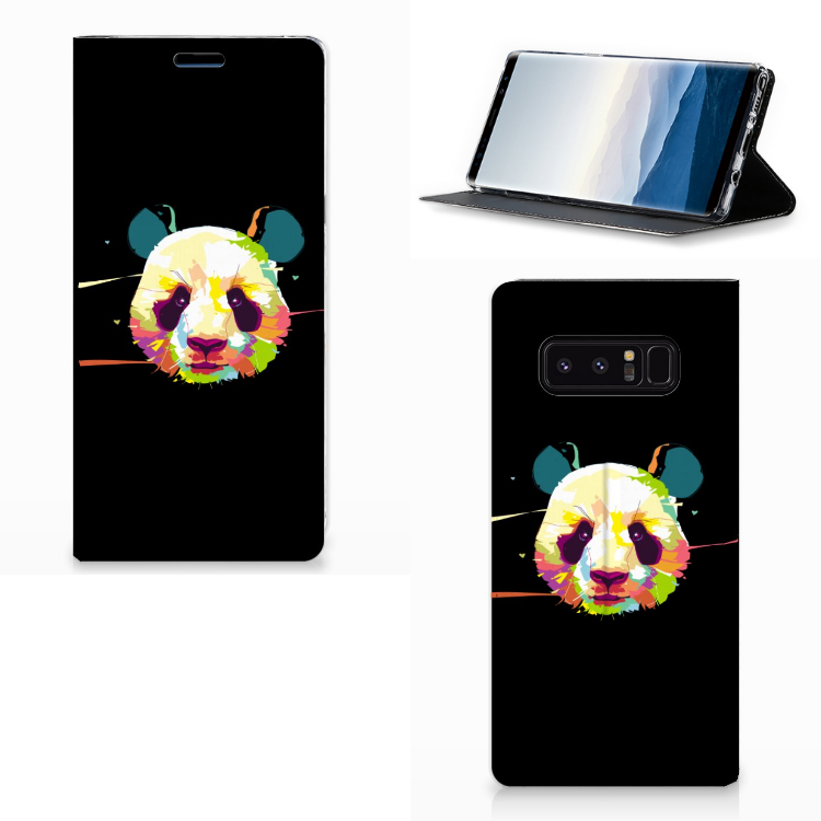 Samsung Galaxy Note 8 Magnet Case Panda Color
