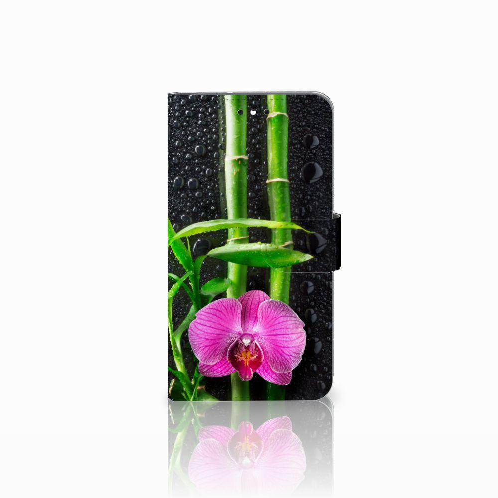 Motorola Moto G4 | G4 Plus Boekhoesje Design Orchidee