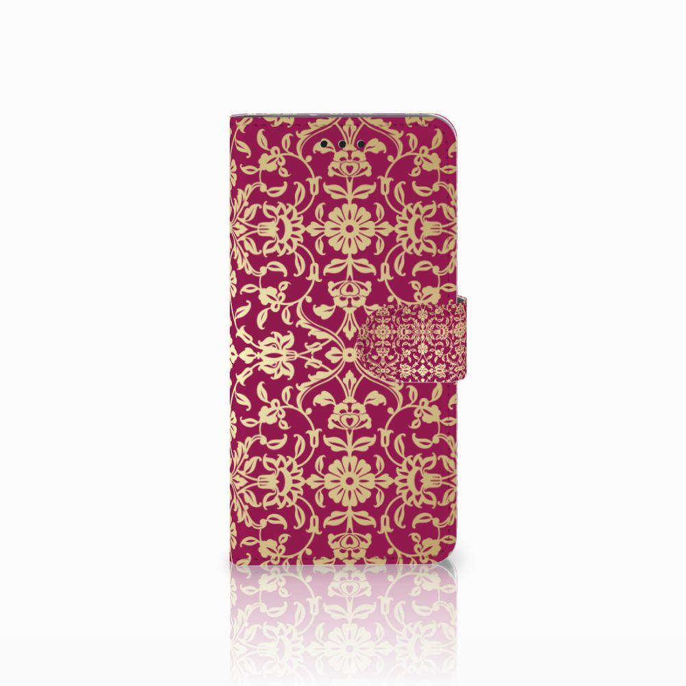 Motorola Moto G6 Boekhoesje Design Barok Pink
