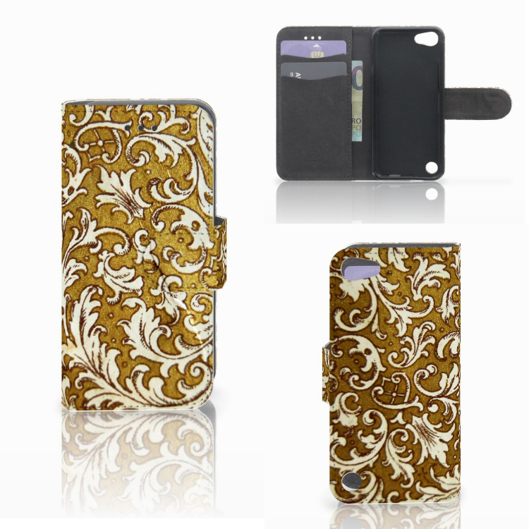 Wallet Case Apple iPod Touch 5 | 6 | iPod (2019) Barok Goud