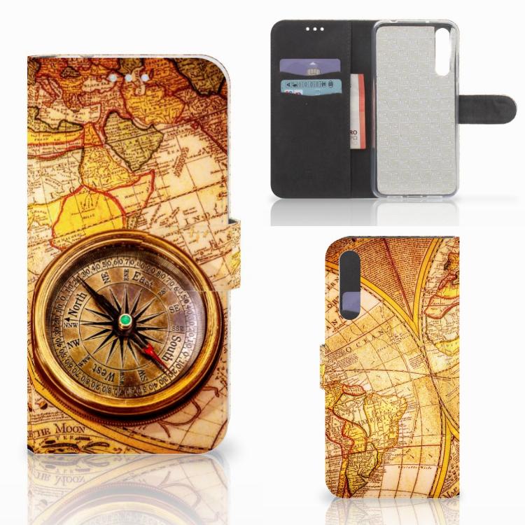 Huawei P20 Pro Flip Cover Kompas