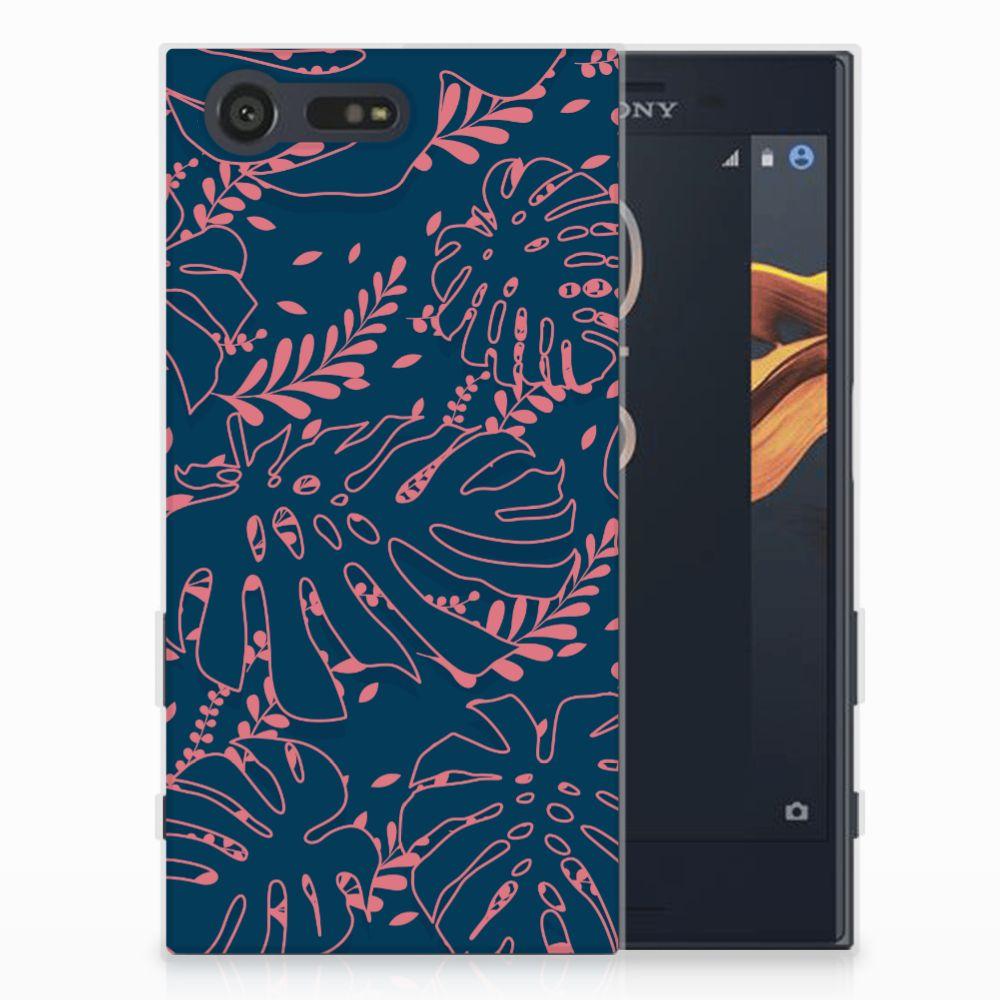 Sony Xperia X Compact TPU Hoesje Design Palm Leaves