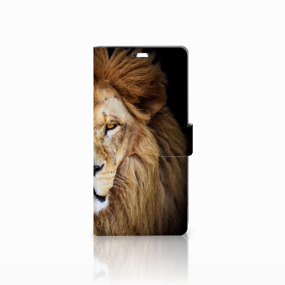 Sony Xperia C5 Ultra Boekhoesje Design Leeuw