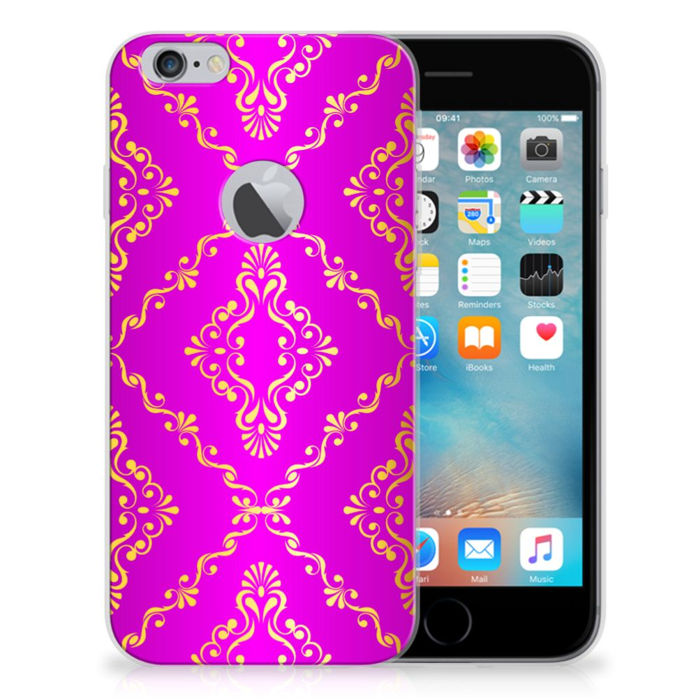 Siliconen Hoesje Apple iPhone 6 Plus | 6s Plus Barok Roze