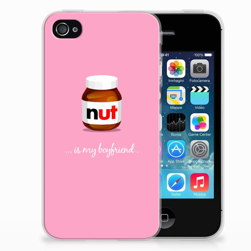 Apple iPhone 4 | 4s Siliconen Case Nut Boyfriend