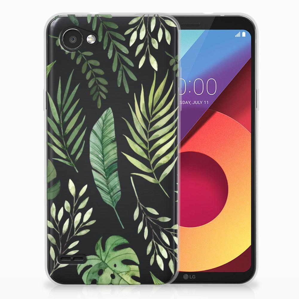LG Q6 | LG Q6 Plus Uniek TPU Hoesje Leaves