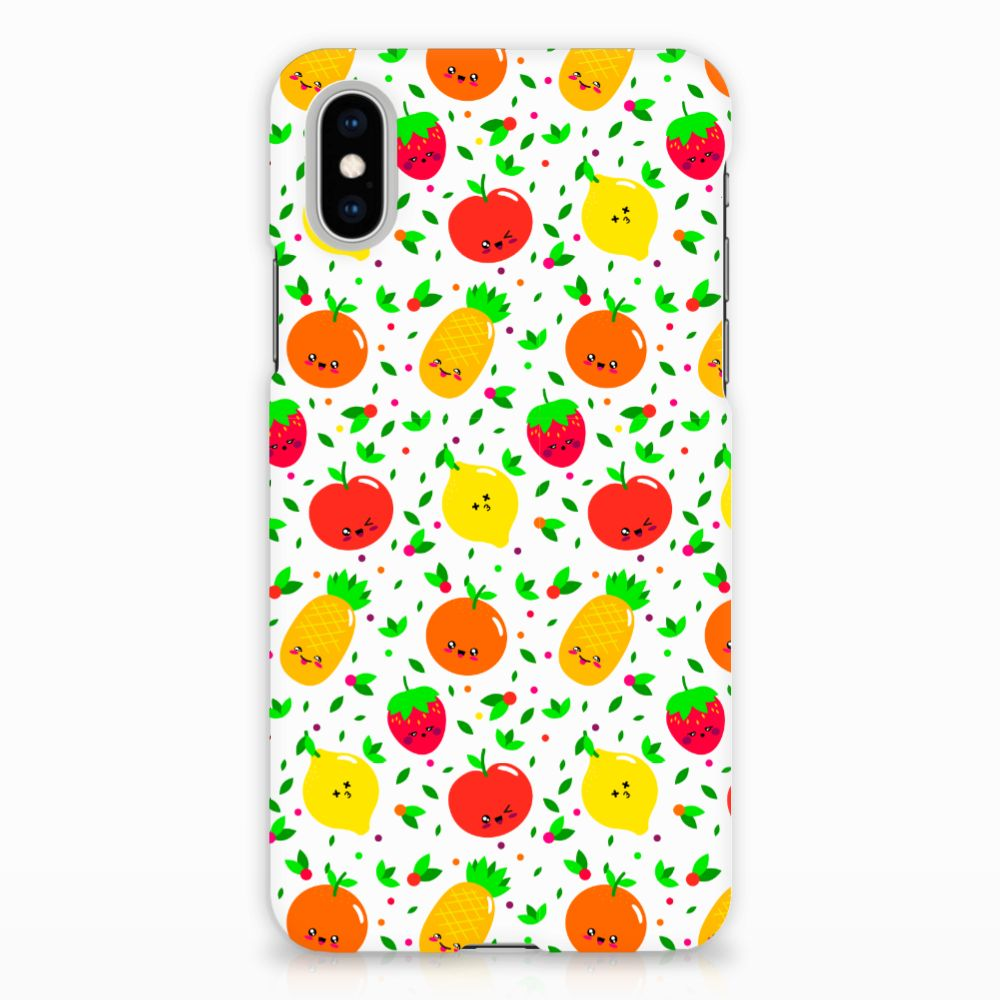 Apple iPhone X | Xs Hardcase Hoesje Design Fruits