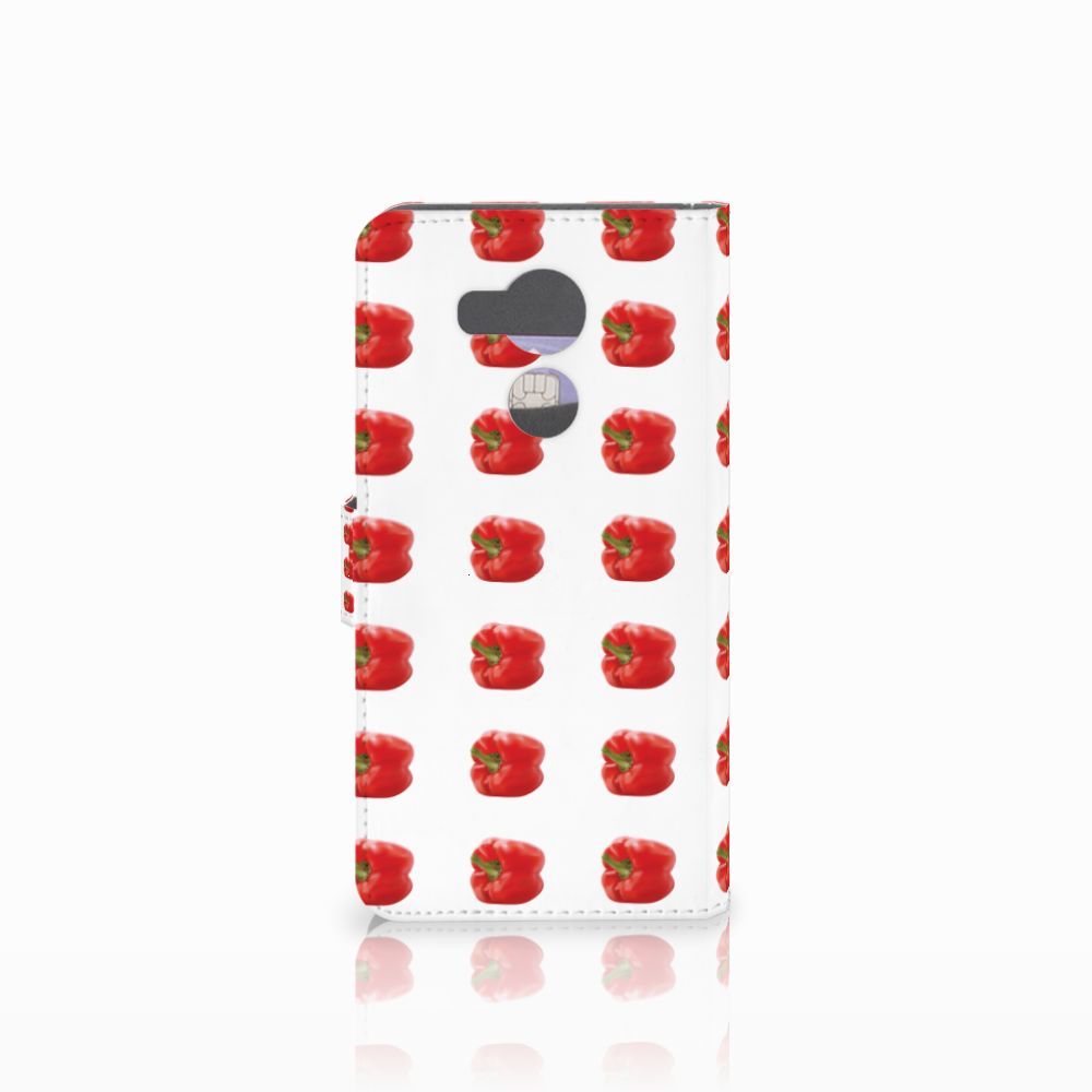 Huawei Mate 8 Book Cover Paprika Red
