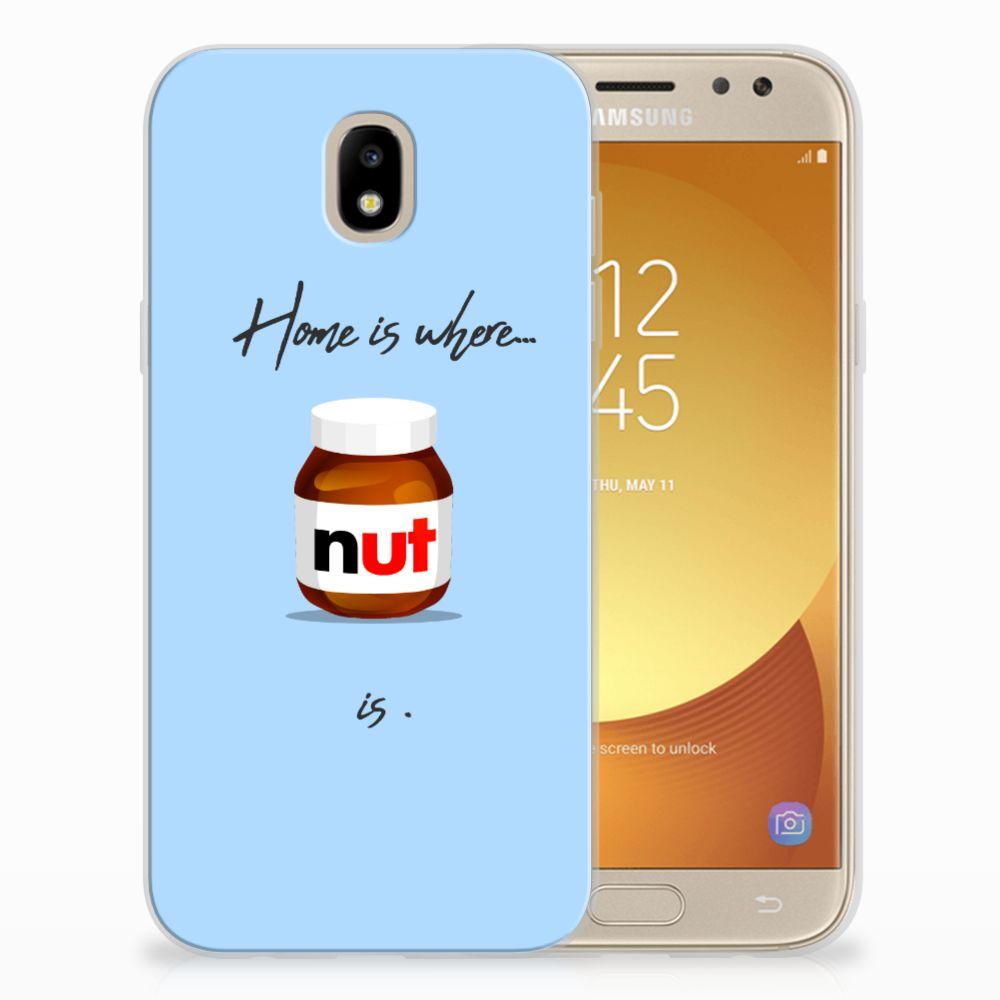 Samsung Galaxy J5 2017 Siliconen Case Nut Home