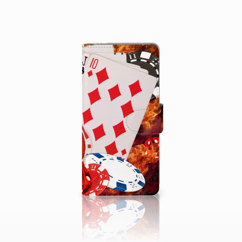 Samsung Galaxy Grand Prime   Grand Prime VE G531F Uniek Boekhoesje Casino