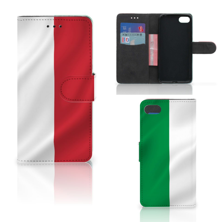 Huawei Y5 2018 Bookstyle Case Italië